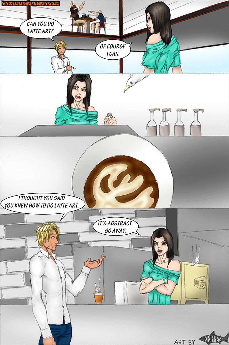 Issue 12#: Latte Art